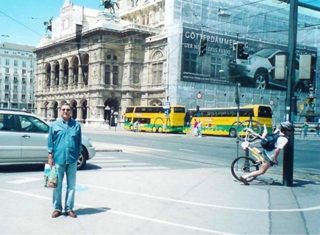 Вроде бы простая туристическая фотография